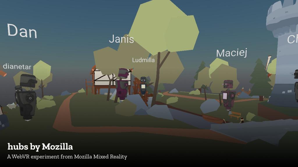 Hubs es la experiencia social sobre realidad virtual que pretende ofrecer Mozilla