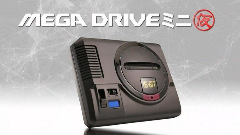 SEGA Japón confirma el lanzamiento de una Mega Drive Mini