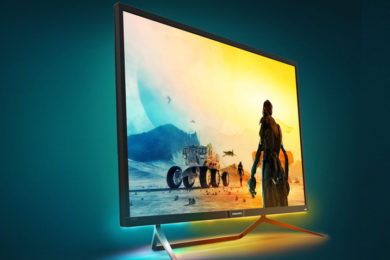 Philips Momentum, monitor gigante, 4K, HDR1000 y Active Sync