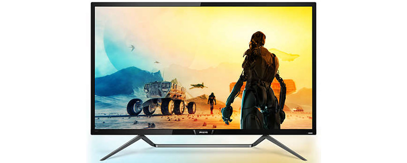 Philips Momentum, monitor gigante, 4K, HDR1000 y Active Sync 30