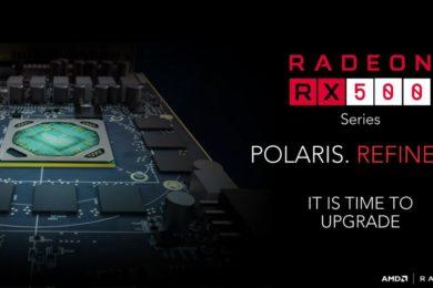 Listadas las Radeon RX 500X en la web oficial de AMD