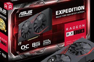ASUS presenta la Radeon RX 570 Expedition, un modelo básico