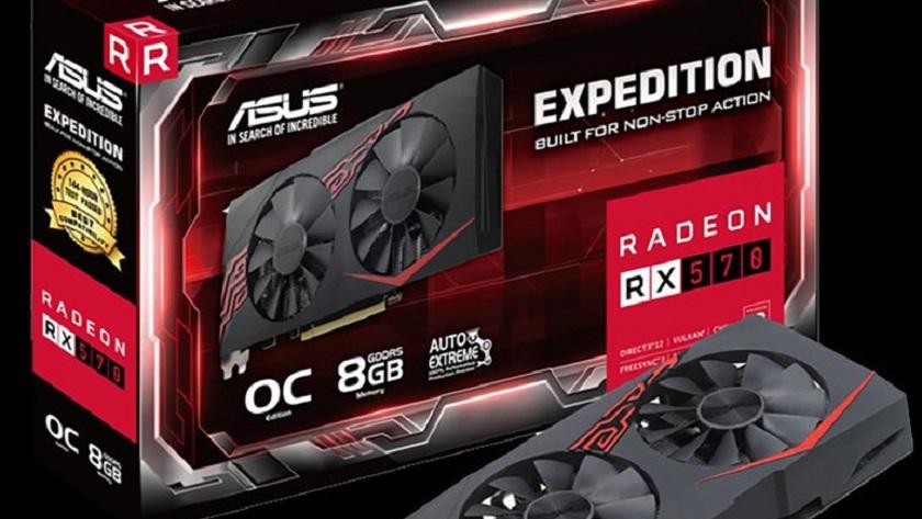 ASUS presenta la Radeon RX 570 Expedition, un modelo básico 28