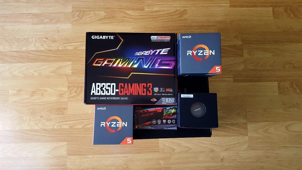 Ryzen 5 2600 a 4,05 GHz con memoria DDR4 a 3.466 MHz 29