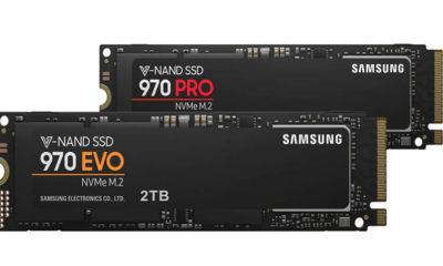 SSD 970 PRO y EVO