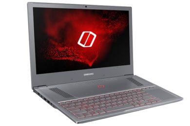 Samsung Odyssey Z, un portátil gaming con GTX 1060 y Core i7