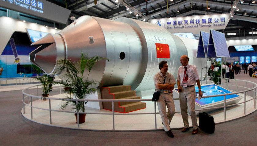 Tiangong-1 cae en el océano Pacífico sin provocar daños