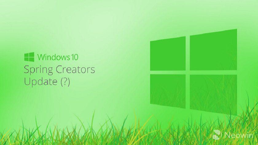 Windows 10 Spring Creators Update no elevará los requisitos mínimos 29