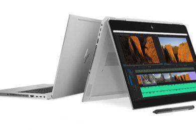 HP ZBook Studio x360: la workstation convertible más potente del mercado