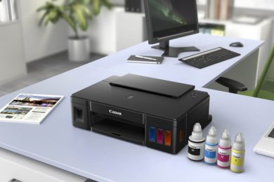 Canon Pixma G1510 con depósitos de tinta, calidad a bajo coste