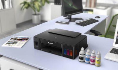 Canon Pixma G1510 con depósitos de tinta, calidad a bajo coste 77