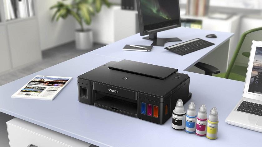 Canon Pixma G1510 con depósitos de tinta, calidad a bajo coste 29