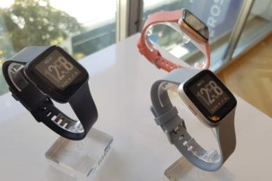 Fitbit Versa colores