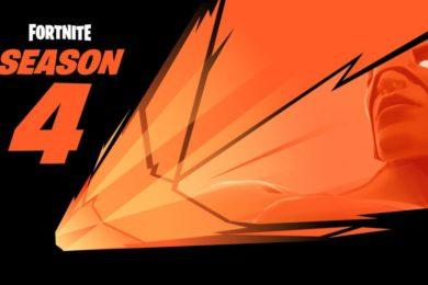 Llueven meteoritos para anunciar la Season 4 de Fortnite