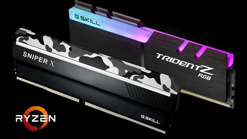 G.SKILL anuncia memoria DDR4 para Ryzen 2000 y placas base X470 30