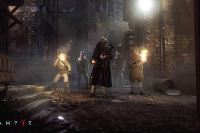 Primer tráiler del modo historia de Vampyr, un juego muy interesante