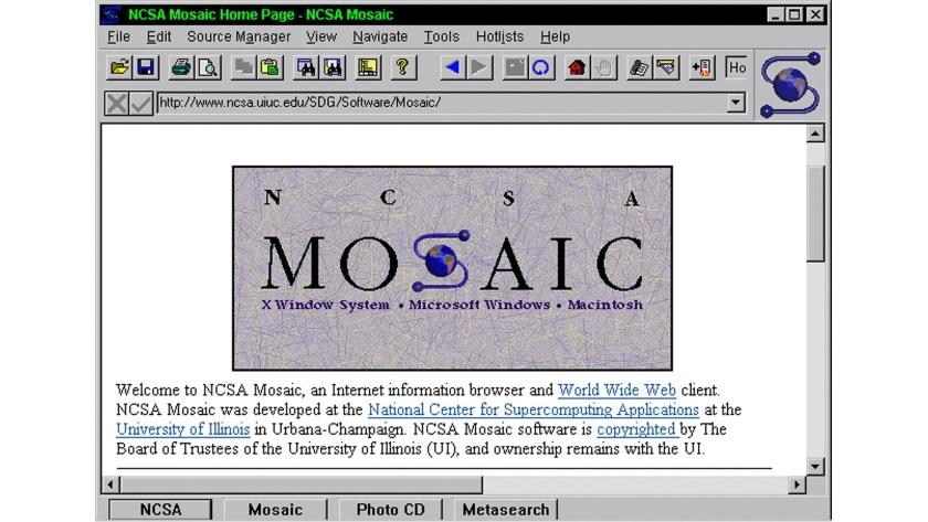 25 años de Mosaic, el navegador que iluminó la Web
