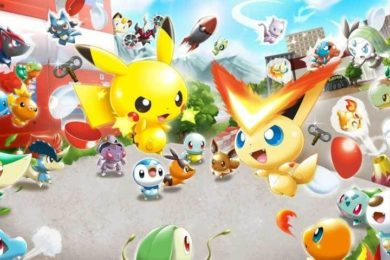 Nintendo registra una nueva marca de Pokemon Rumble