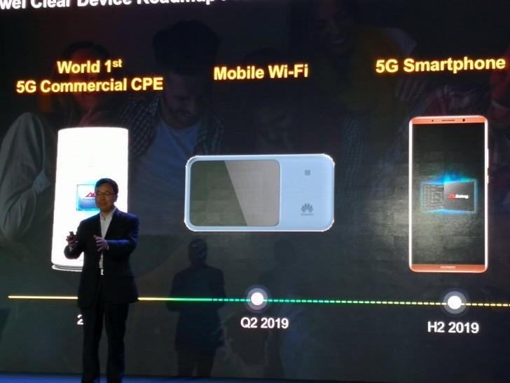 El primer smartphone 5G de Huawei llegará en 2019 36