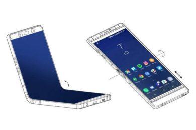 El smartphone flexible de Samsung será como un Note 8 con doble pantalla