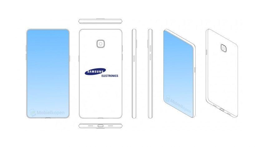 Samsung patenta smartphones con muesca y sin bordes