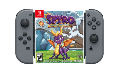 spyro reignited caratula switch