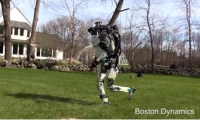 Atlas Robot Running