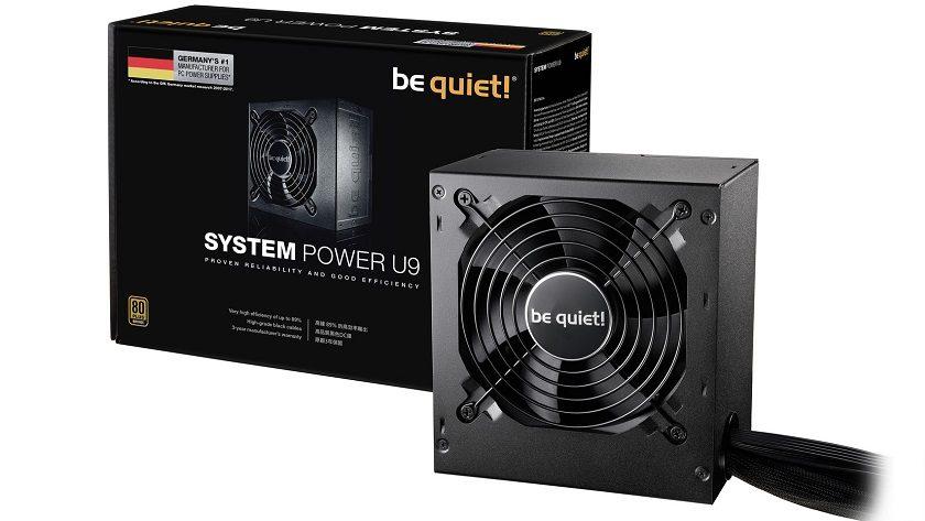 Be Quiet! System Power U9, nuevas fuentes de alimentación económicas