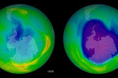 Un CFC que fue prohibido sigue en uso y está dañando la capa de ozono