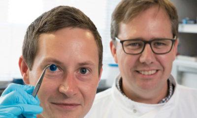 primera córnea humana impresa en 3D