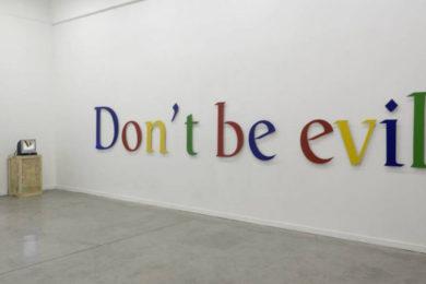 Google abandona su lema 'Don't Be Evil'