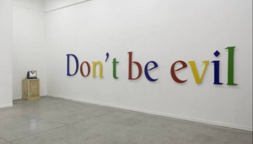 Google abandona su lema 'Don't Be Evil'