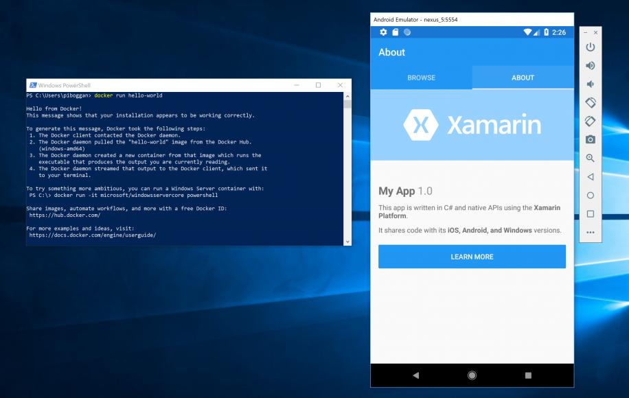 Microsoft publica un emulador Android bajo Hyper-V para Windows 10 29