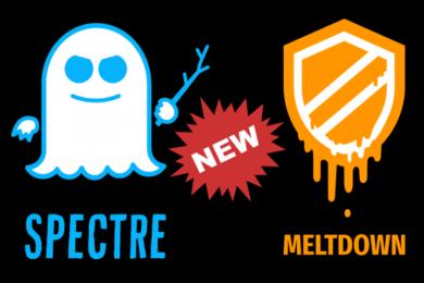 Aparecen nuevas vulnerabilidades Spectre y Meltdown