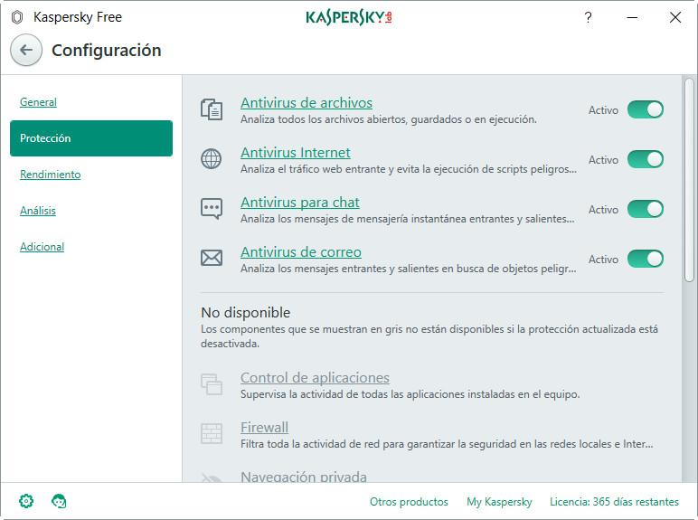 Analizamos Kaspersky Free Antivirus ¡Adiós a Windows Defender! 47