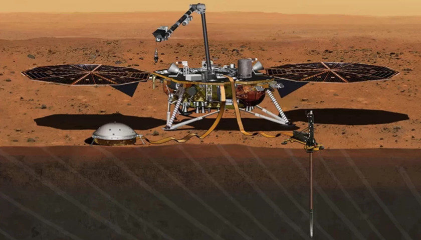 El Mars InSight de NASA ya vuela rumbo a Marte