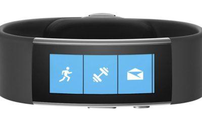 Microsoft podría retomar Microsoft Band tras presentar dos nuevas patentes