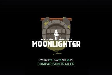 Moonlighter presenta un hilarante tráiler comparativo