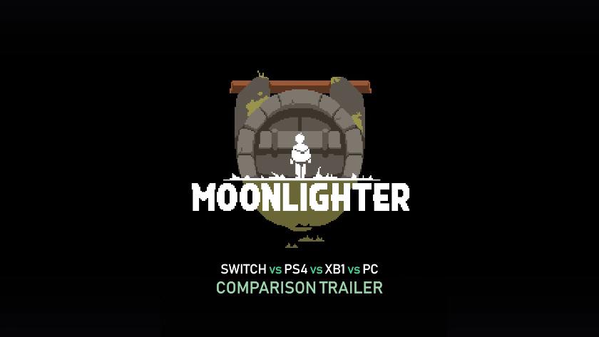 Moonlighter Trailer Comparación