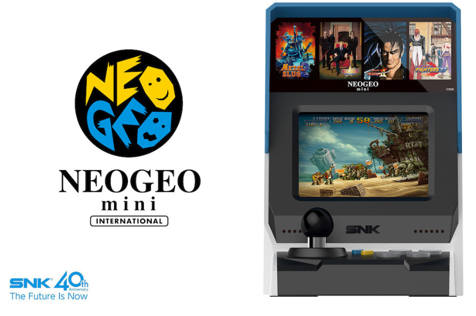 Neo Geo Mini ya es oficial 34