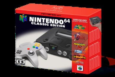 Nintendo registra Nintendo 64, ¿llega una nueva mini?