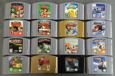 Posible listado de juegos de Nintendo 64 Mini