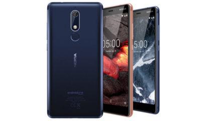 Nokia 2.1, 3.1 y 5.1
