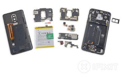 Despiece completo del OnePlus 6: una de cal y otra de arena 34