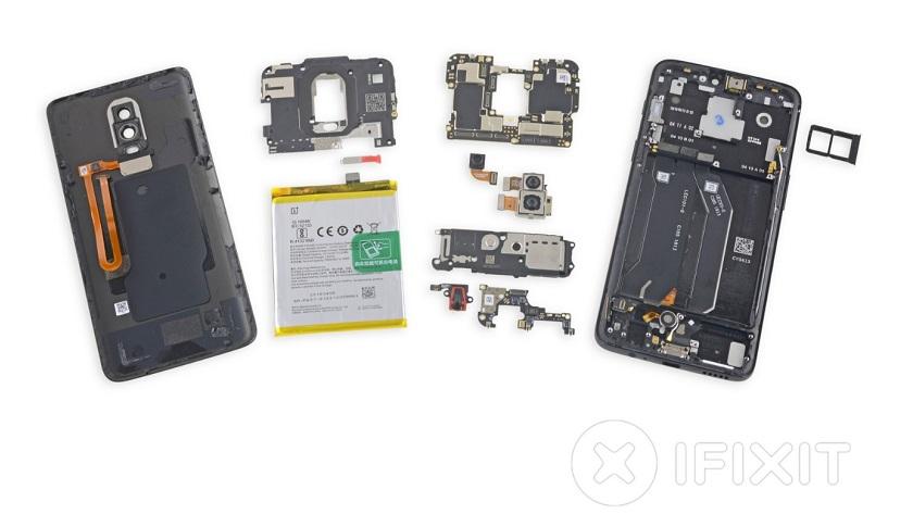 Despiece completo del OnePlus 6: una de cal y otra de arena 37