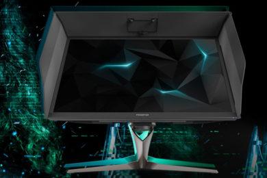 Acer comercializa el supermonitor para juegos, Predator X27