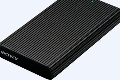 Sony presenta SSD externa compacta, con alta capacidad y rendimiento