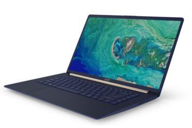 Acer presenta el nuevo Swift 5: un portátil ligero pero potente