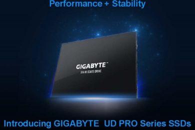 GIGABYTE lanza los SSDs UD PRO: buen rendimiento con un precio ajustado