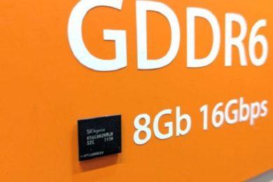 Las GeForce GTX Volta utilizarán GDDR6, según SK Hynix